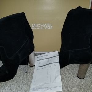 Michael Kors suede over the knee boot